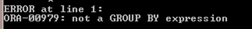 GROUP BY Oracle