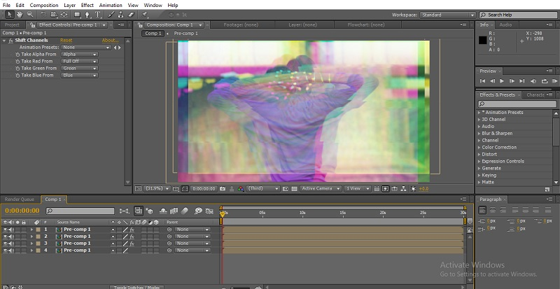 Glitch Effect in After Effects 42