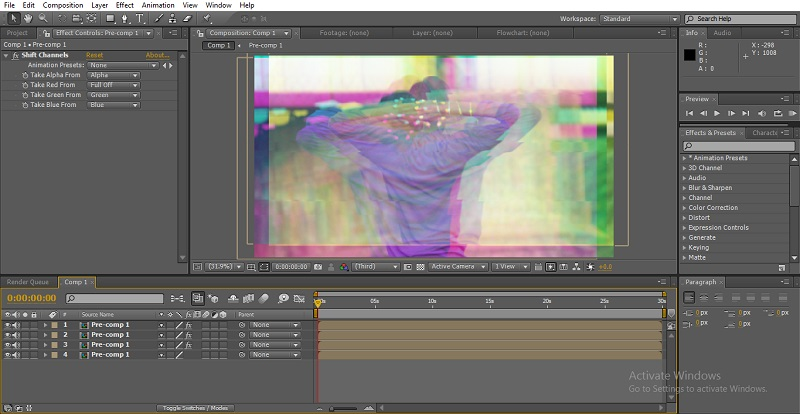 Glitch Effect in After Effects 44