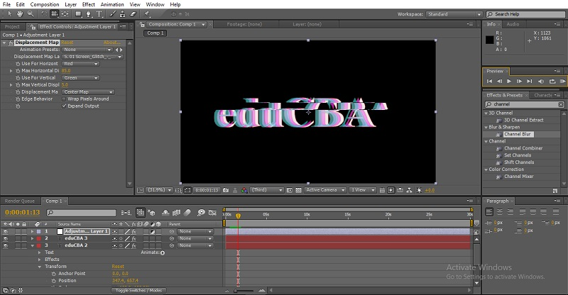 Glitch Effect in After Effects 9