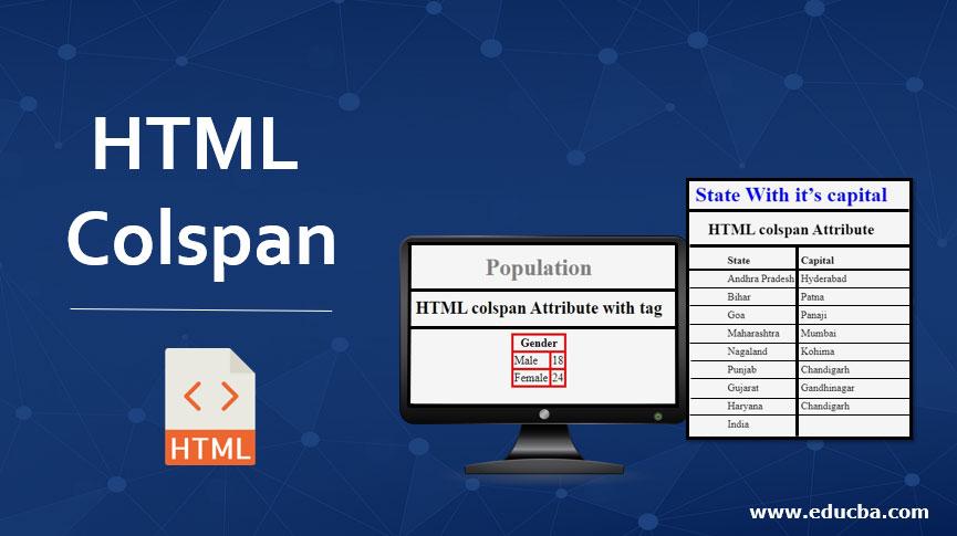HTML-Colspan
