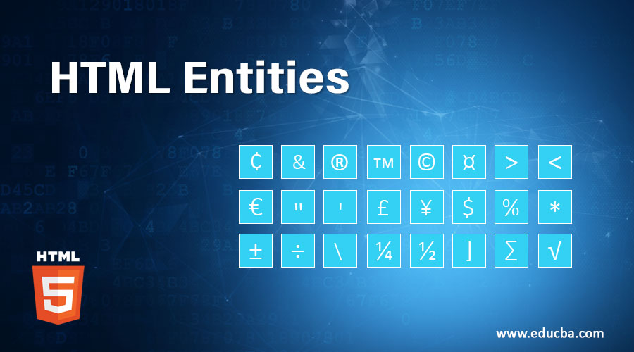 HTML-Entities