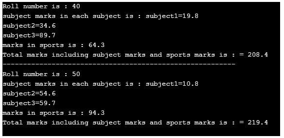 HYBRID INHERITANCE IN C++. 2JPG