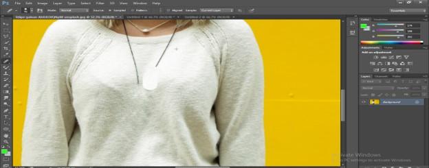 Healing Brush Tool in Photoshop - 11