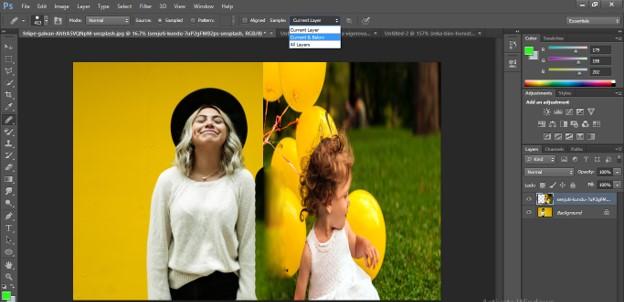 Healing Brush Tool in Photoshop - 27
