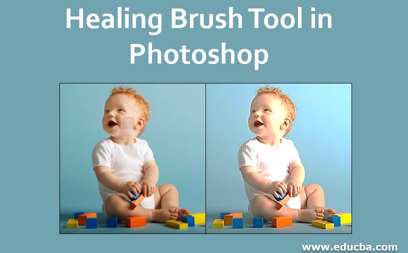 Healing Brush Tool in Photoshop