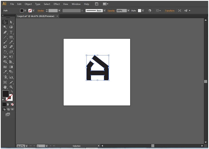 How to Make Logo in Illustrator - 14