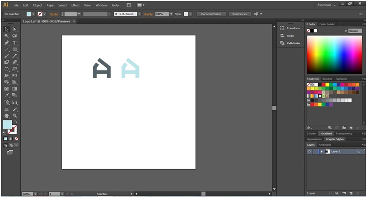 How to Make Logo in Illustrator - 16