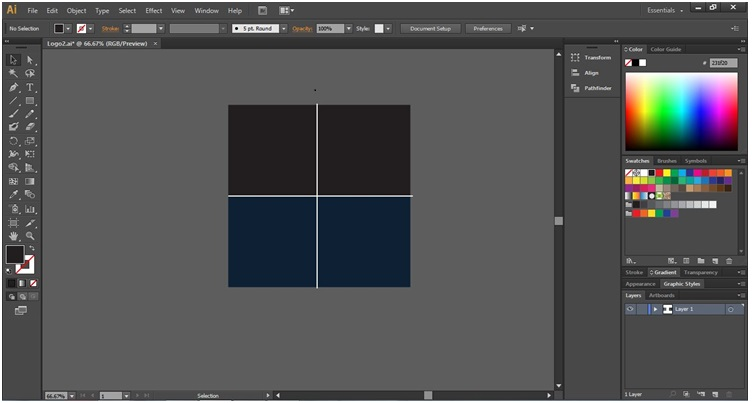 How to Make Logo in Illustrator - 18