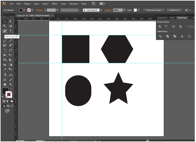 How to Make Logo in Illustrator - 4
