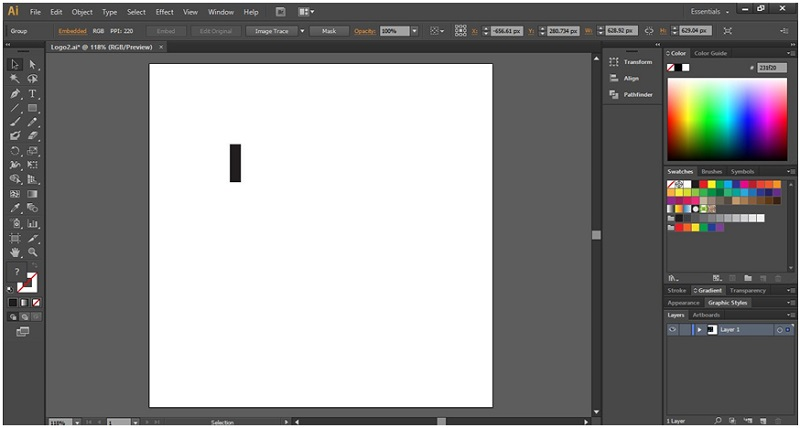How to Make Logo in Illustrator - 5