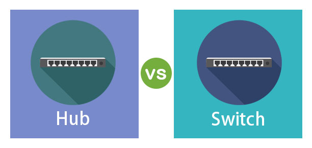 Hub vs Switch