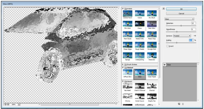 Ice Effect in Photoshop - 16
