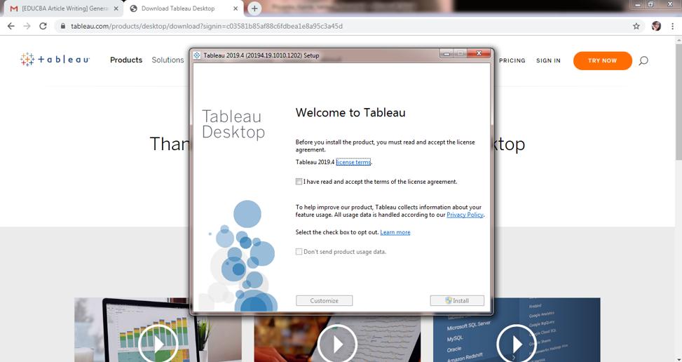 Install Tableau Server - 6