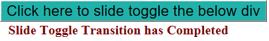 JQuery Slidetoggle() output 2
