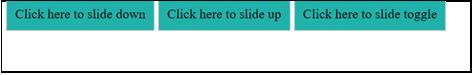 JQuery Slidetoggle() output 6