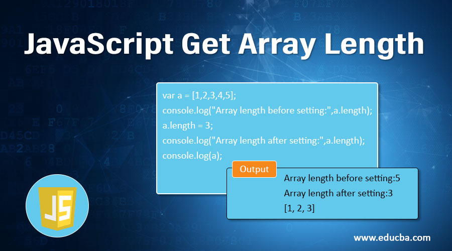 JavaScript Get Array Length