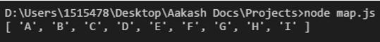 JavaScript Merge Arrays output 2