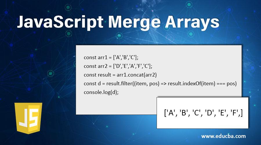 JavaScript Merge Arrays