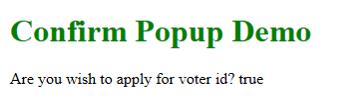JavaScript Popup Box - 3