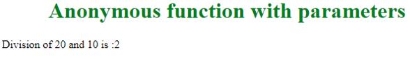 Javascript Anonymous Function eg2