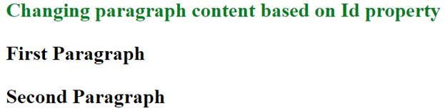 Javascript Innerhtml output 1