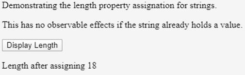 Javascript String Length - 2.2