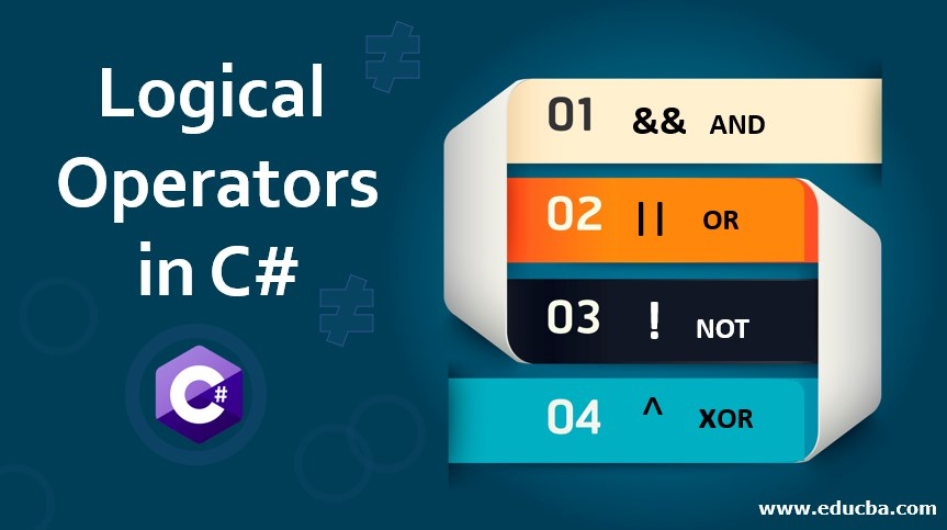 Logical Operators in C#