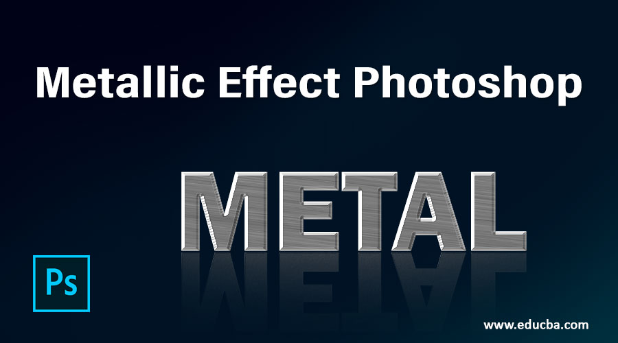 Metallic Effect Photoshop