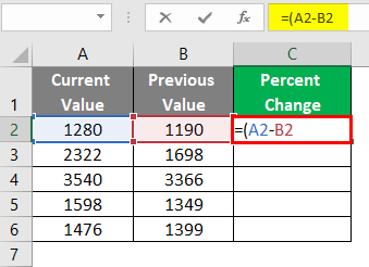 Values are Stored in Cells 2-2
