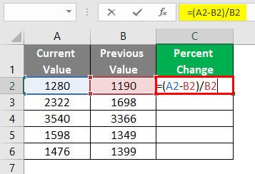 Values are Stored in Cells 2-3