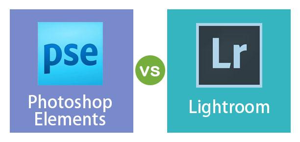 Photoshop-Elements vs Lightroom