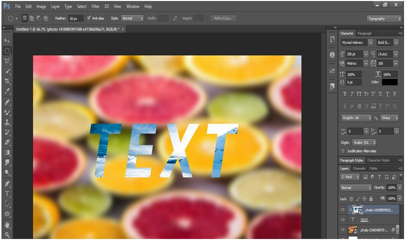 Photoshop Font Effects - 12
