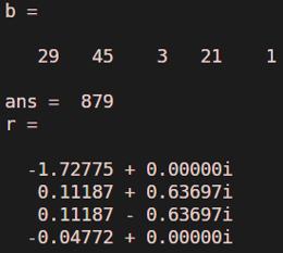 Polynomial in Matlab - 4