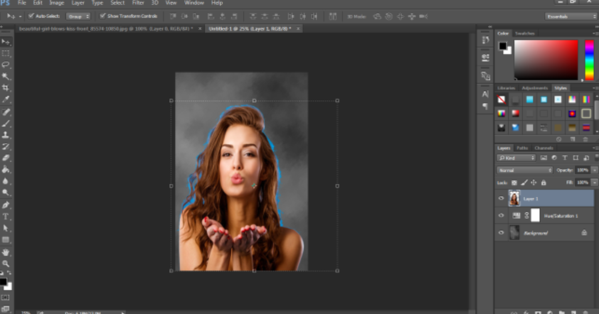 Portrait Effect in Photoshop -20