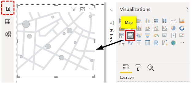 Power bi Maps Example 1-6