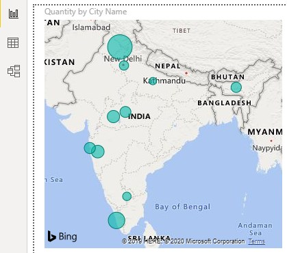 Power bi Maps Example 1-11