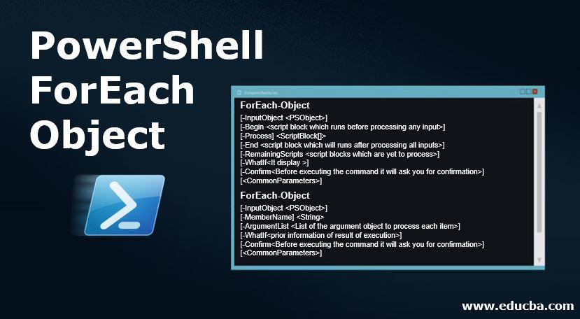 PowerShell ForEach Object