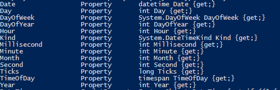 PowerShell Get-Date - 7