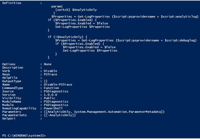 PowerShell Import-Module output 1.2