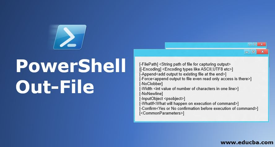 PowerShell Out-File