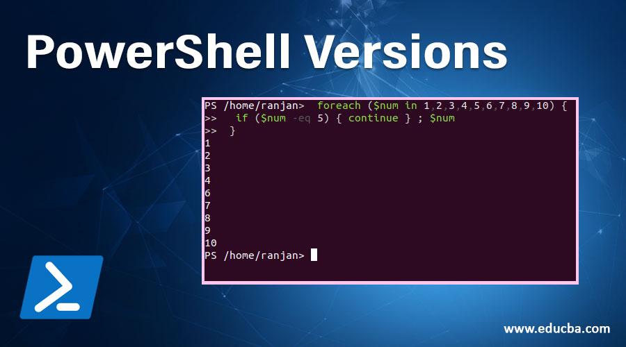 PowerShell Versions