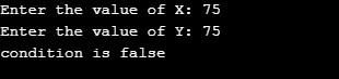 Relational Operators in C++ eg6