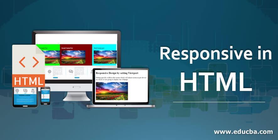 Responsive in HTML