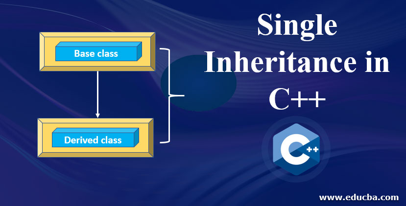 Single-Inheriteance-in-C++
