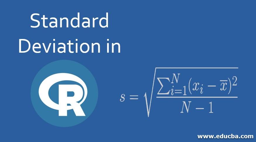 Standard Deviation in R