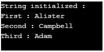 String Initialization in Java 1-1