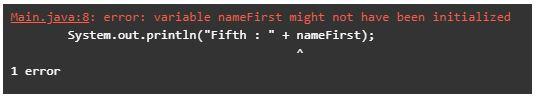 String Initialization in Java 1-2