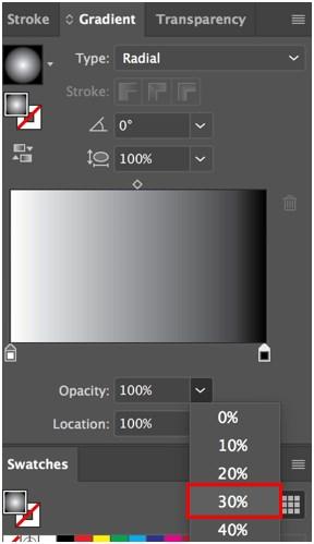 Transparency in Illustrator - 6