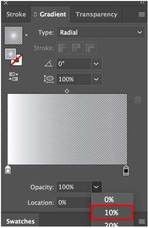 Transparency in Illustrator - 7